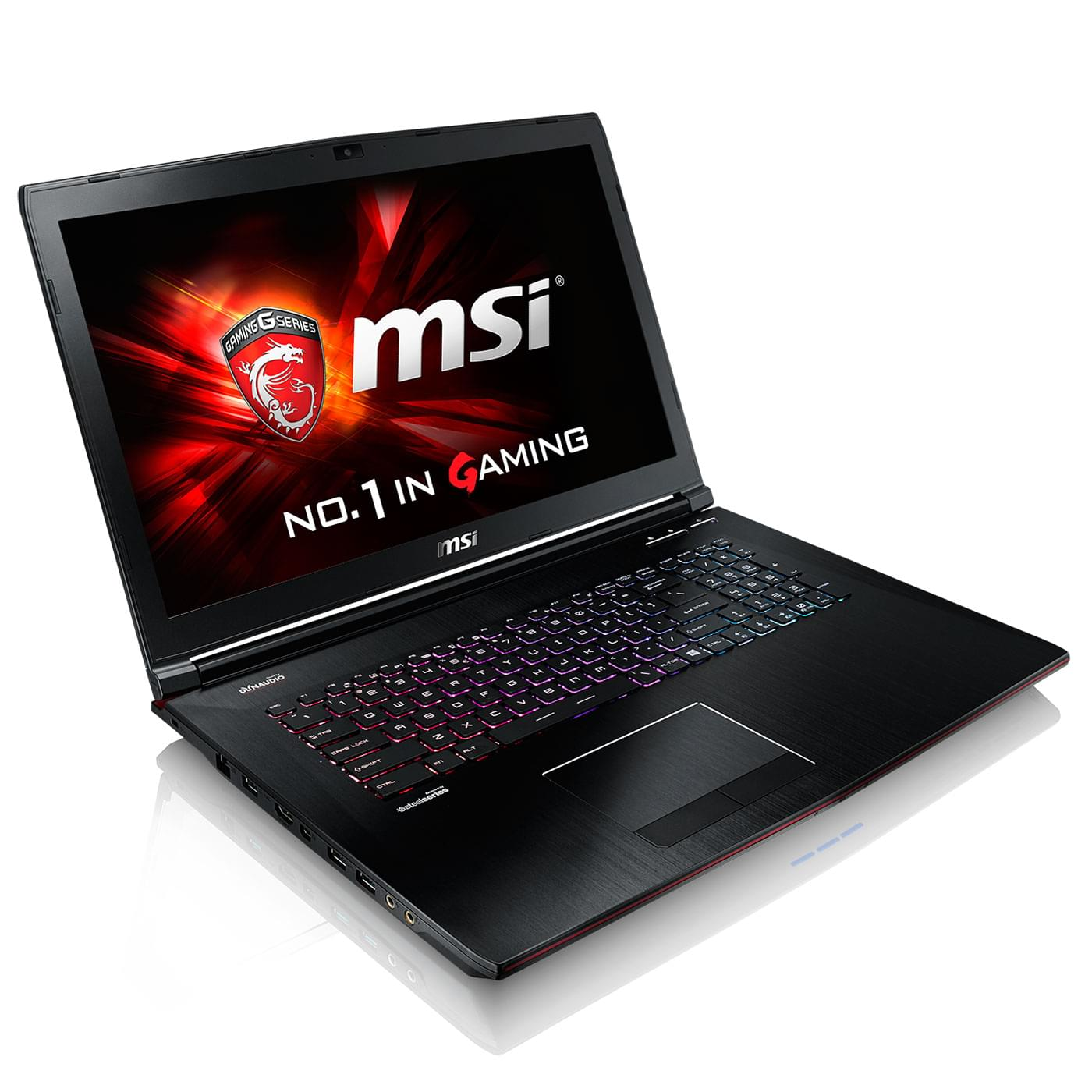 MSI GE72 2QF-216X (9S7-179111-216) - Achat / Vente PC Portable sur Cybertek.fr - 0