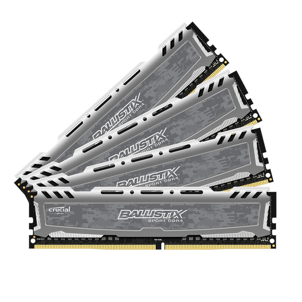 Ballistix BLS4C4G4D240FSB (4x4Go DDR4 2400 PC19200) (BLS4C4G4D240FSB soldé) - Achat / Vente Mémoire PC sur Cybertek.fr - 0