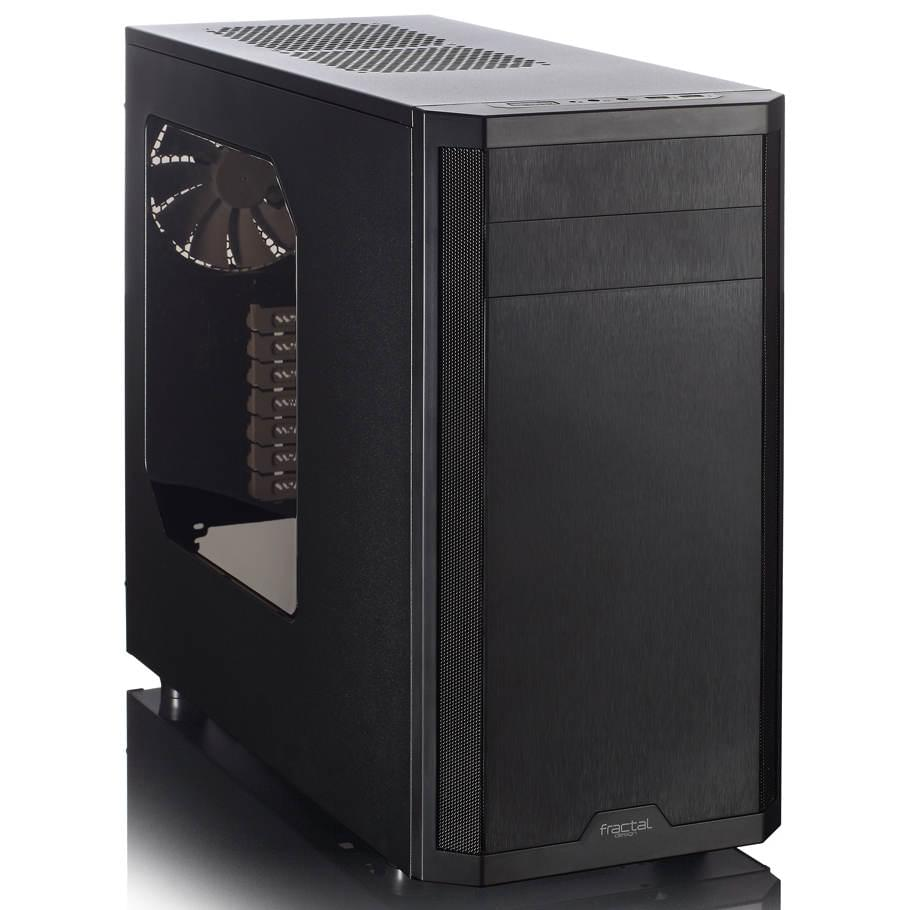 Fractal Design Core 3500 Window Black - Boîtier PC Acier - Sans Alim - 0