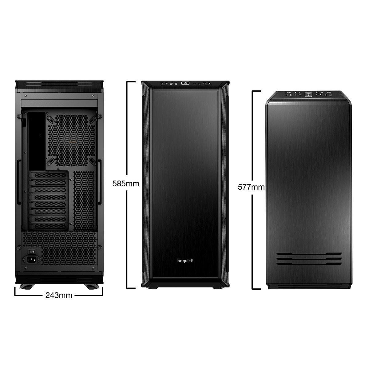 Be Quiet! Dark Base 900 Black (BG011) - Achat / Vente Boîtier PC sur Cybertek.fr - 2
