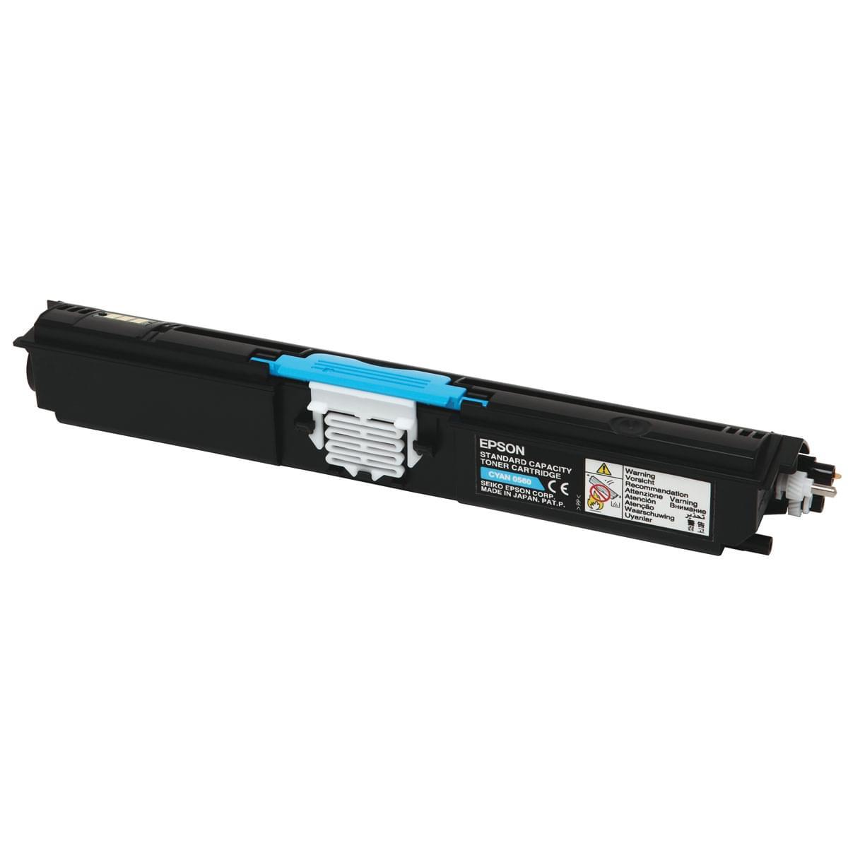 Toner Cyan 1600p - C13S050560 pour imprimante Laser Epson - 0