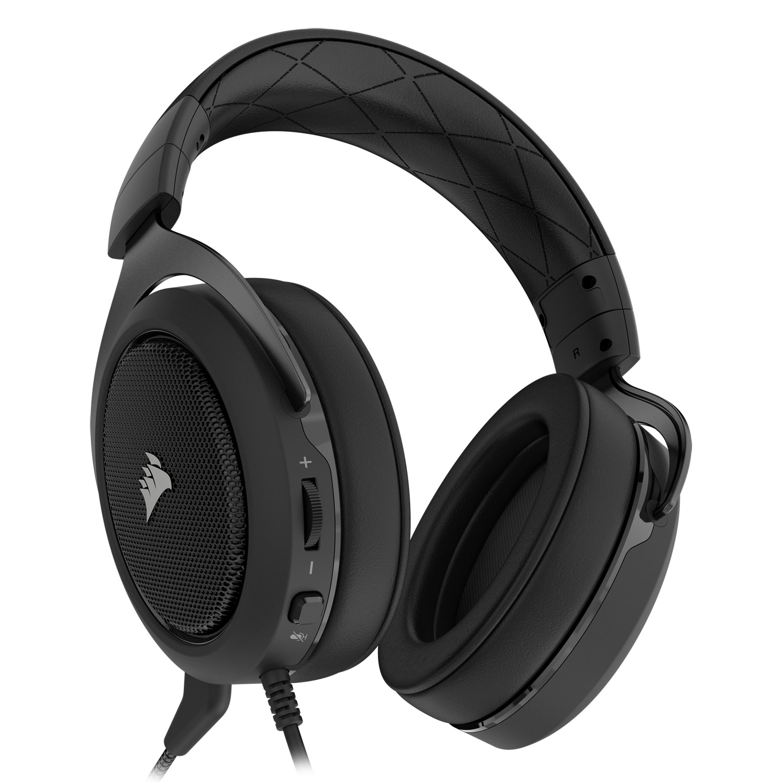 Corsair HS50 Stereo Gaming Headset Carbon Stereo - Micro-casque - 1