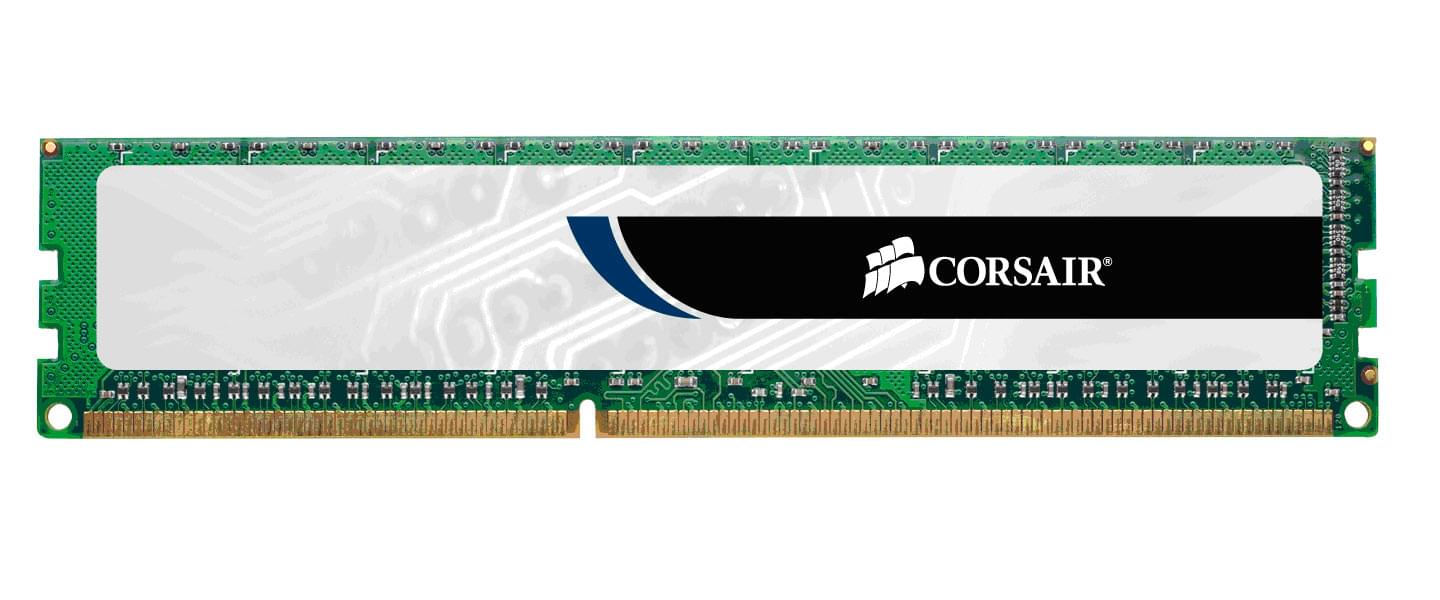 Corsair Value Select  2Go DDR3 1333MHz PC10600 - Mémoire PC Corsair sur Cybertek.fr - 0