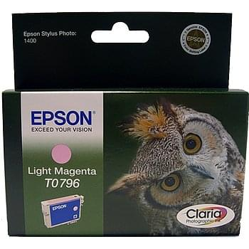 Consommable imprimante Epson Cartouche Magenta clair T0796