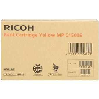 Ricoh Toner Jaune 3000p pour MP C1500E (888548) - Achat / Vente Consommable imprimante sur Cybertek.fr - 0