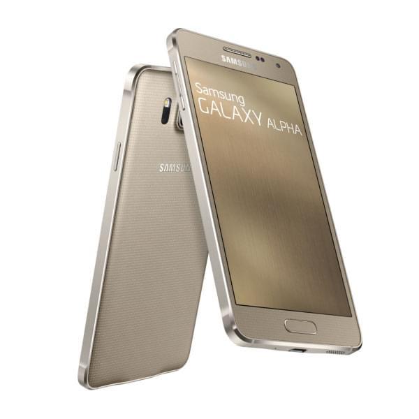 Samsung Galaxy Alpha 32Go Gold G850F (SM-G850FZDEXEF) - Achat / Vente Téléphonie sur Cybertek.fr - 0