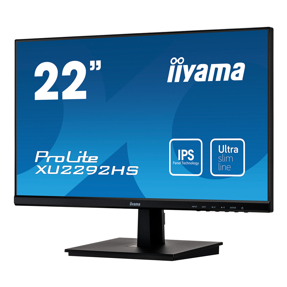 "Iiyama 22""  XU2292HS-B1 - Ecran PC Iiyama - Cybertek.fr - 3"
