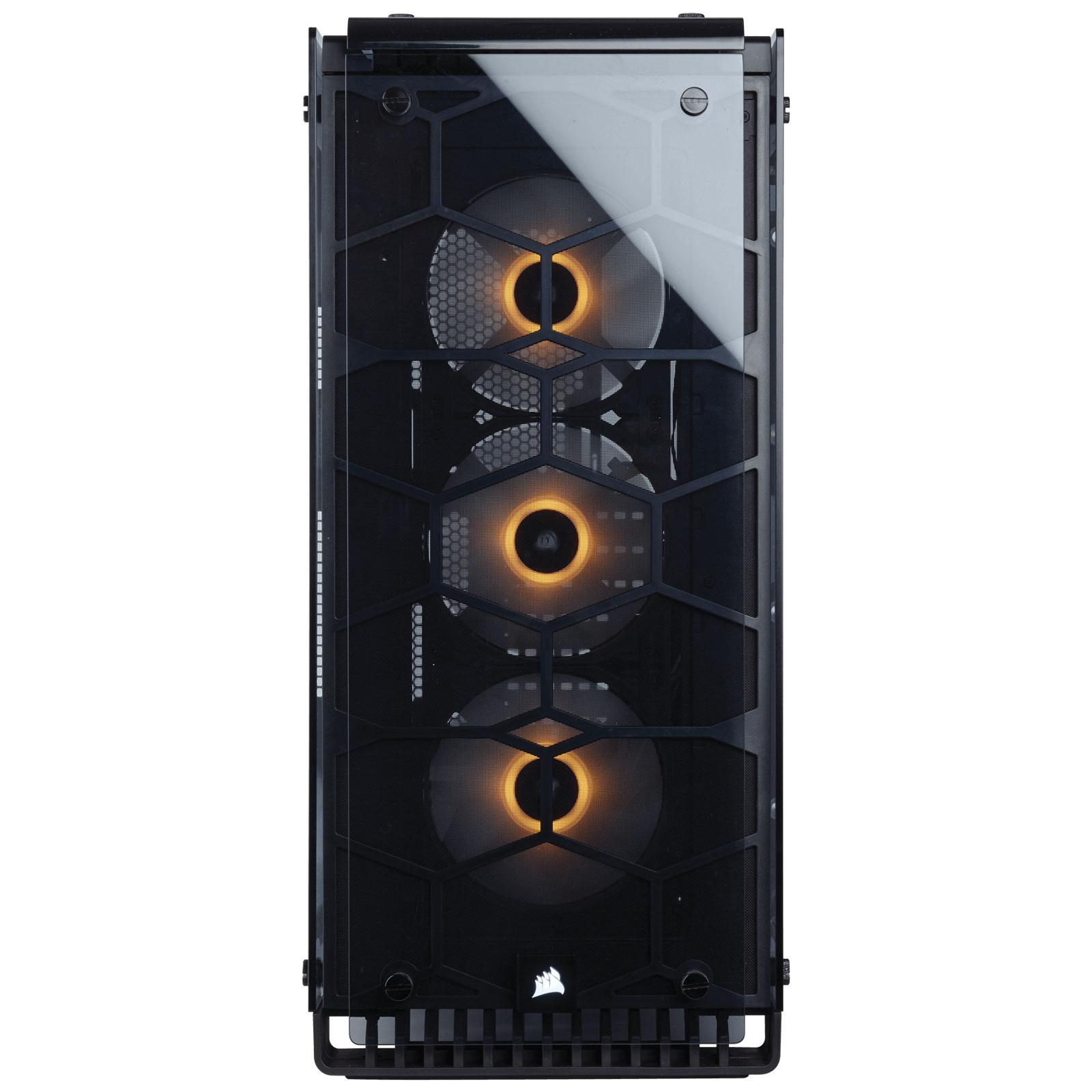 Corsair MT/Sans Alim/ATX/Verre trempé Transparent - Boîtier PC - 1