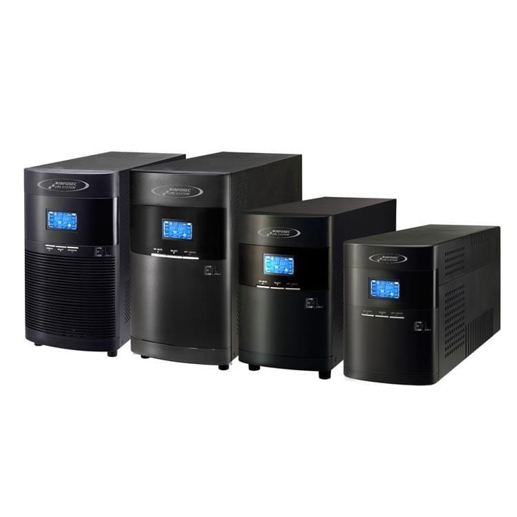 Infosec E4 LCD LT-1000 (67102) - Achat / Vente Onduleur - Multiprises sur Cybertek.fr - 0
