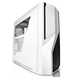 NZXT Boîtier PC Phantom 410 Blanc/Bleu - MT/Sans Alim/ATX Cybertek