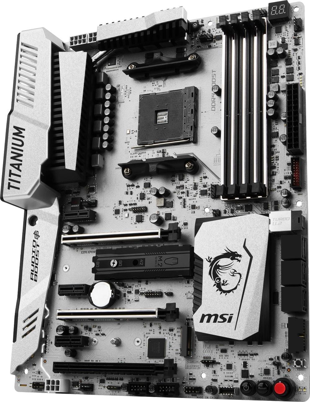 MSI X370 XPOWER GAMING TITANIUM ATX DDR4 - Carte mère MSI - 1
