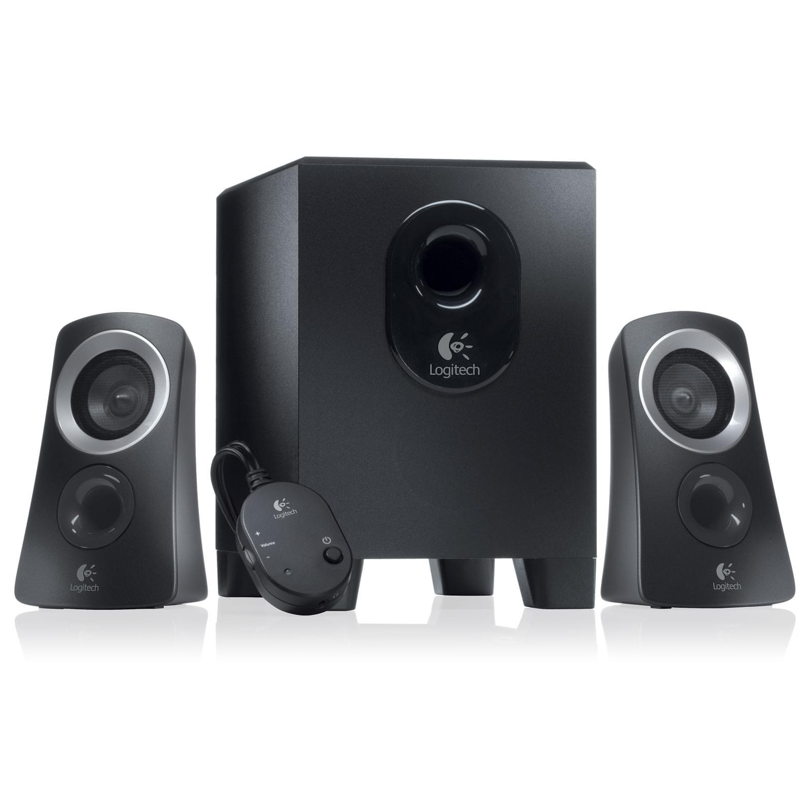 Logitech Speaker System Z313 2HP+Caisson (980-000413) - Achat / Vente Enceinte PC sur Cybertek.fr - 0