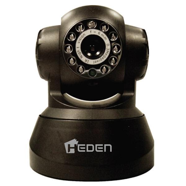 Heden VisionCam Filaire Motorisée - Caméra IP/RJ45 Noire - 0