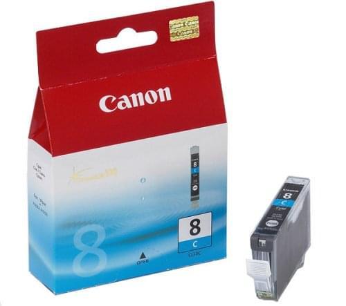 Cartouche CLI-8C - 0621B001 pour imprimante Jet d'encre Canon - 0