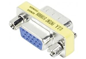 No Name Mini Changeur VGA (HD15) Male-Femelle (083750) - Achat / Vente Connectique PC sur Cybertek.fr - 0