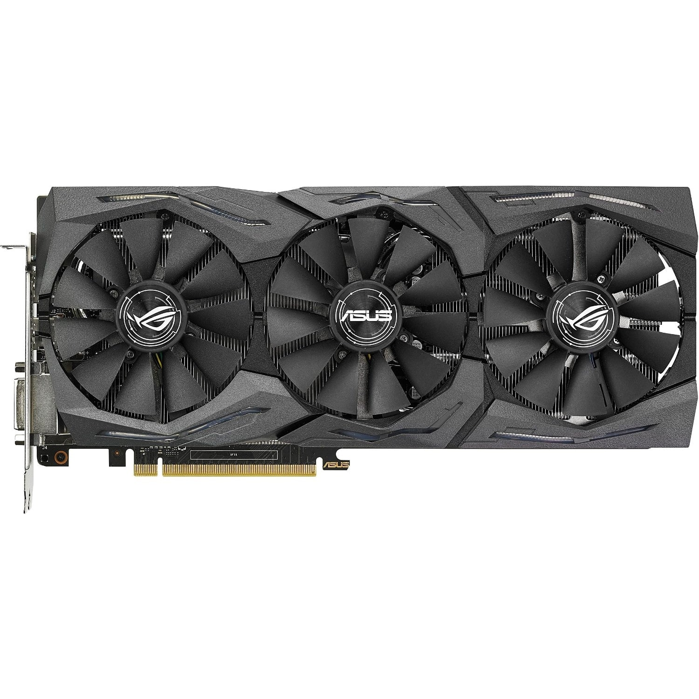 Asus GeForce STRIX-GTX1070-O8G-GAMING  (90YV09N0M0NA00) - Achat / Vente Carte Graphique sur Cybertek.fr - 1