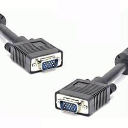 image produit DUST Câble SVGA M/M Blindé et Ferrite - 1.8m Cybertek