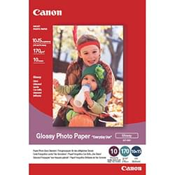 Canon Papier Imprimante Papier photo brillant - 10x 15cm 100f. - GP-501 Cybertek