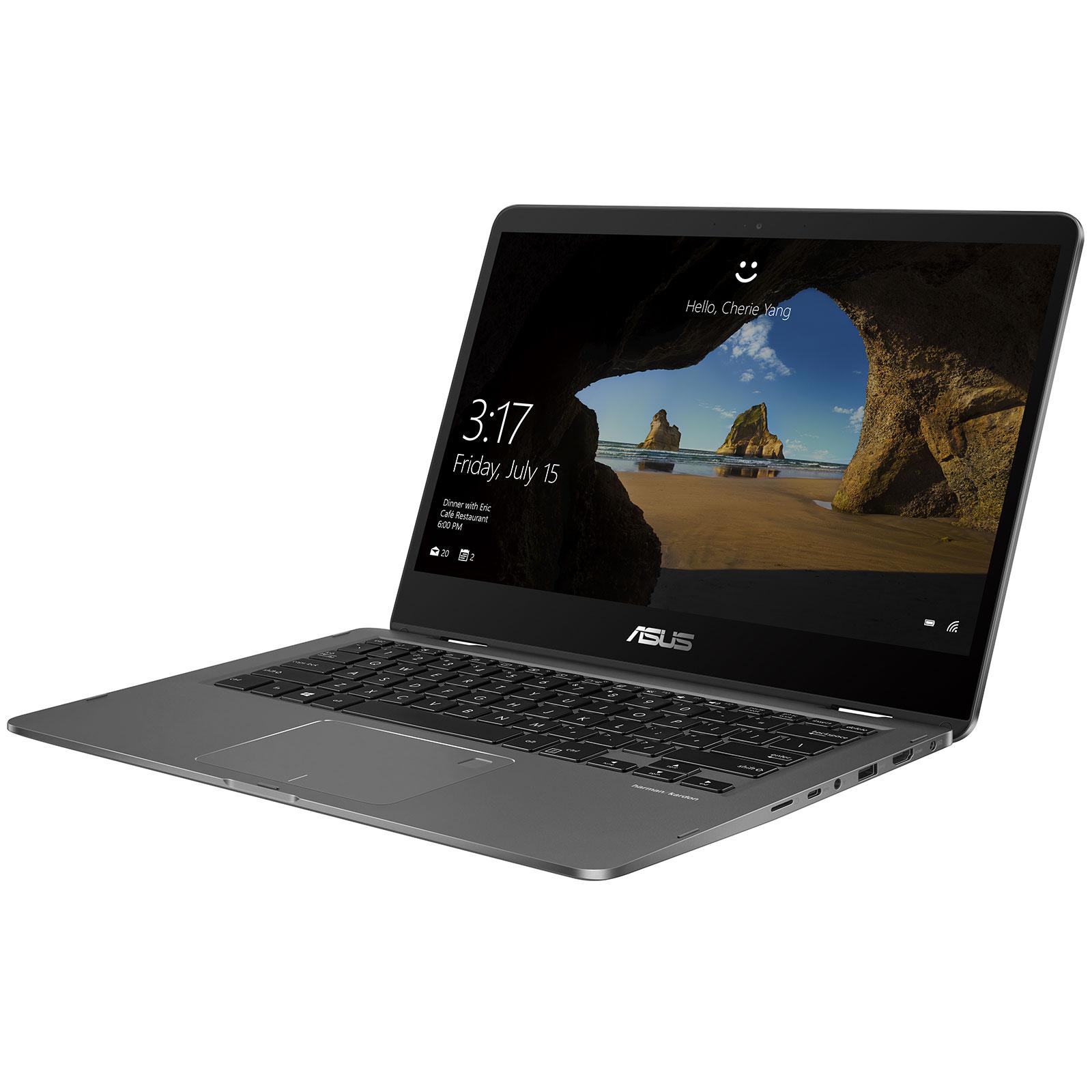 Asus ZenBook Flip 14 UX461UA E1012RB (90NB0GG1-M02090) - Achat / Vente PC portable sur Cybertek.fr - 3