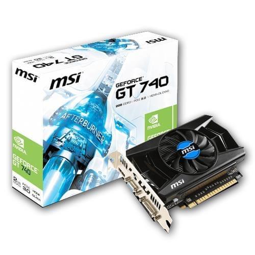 MSI N740-2GD3 (N740-2GD3) - Achat / Vente Carte Graphique sur Cybertek.fr - 0