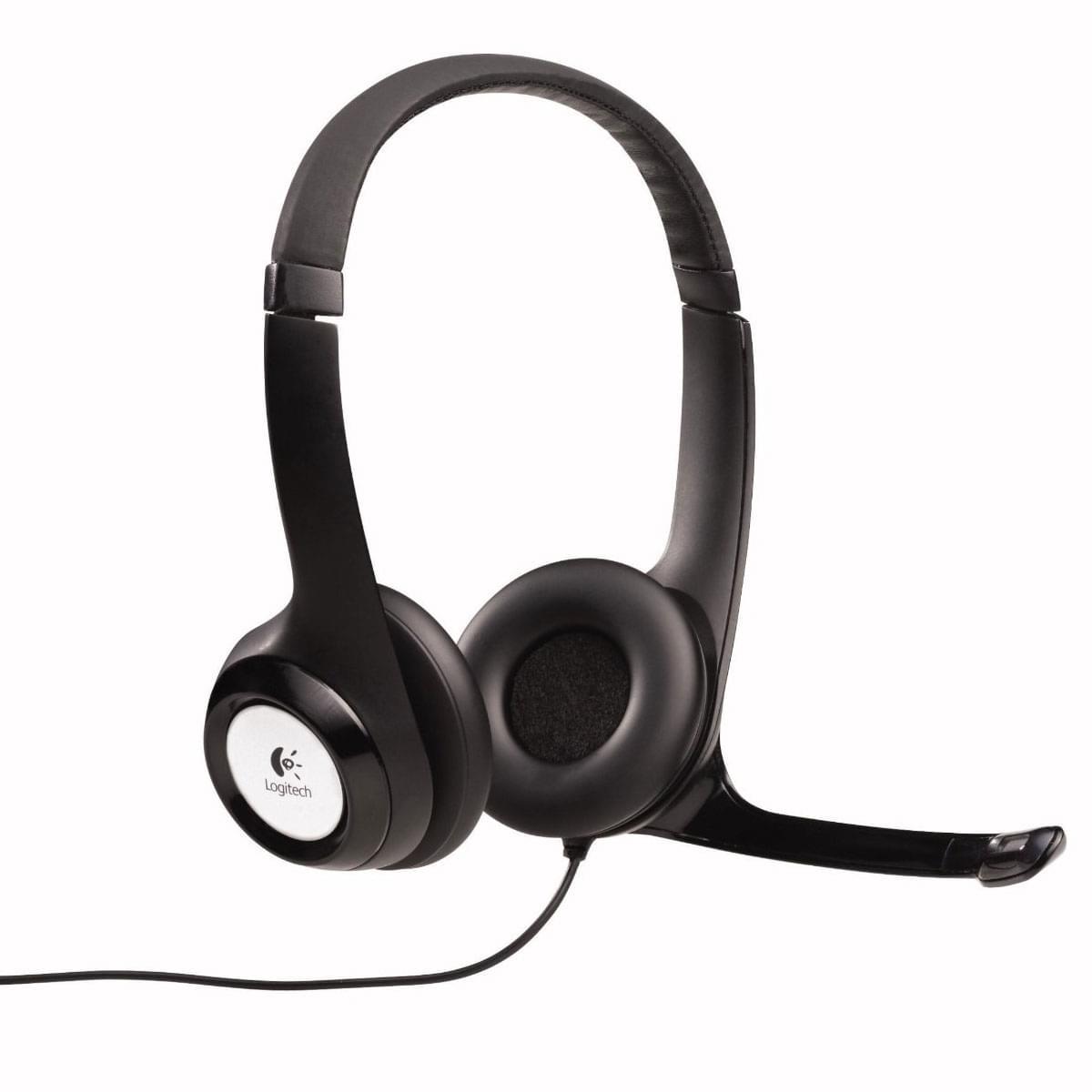 Logitech USB Headset H390 Stereo Noir - Micro-casque - Cybertek.fr - 0