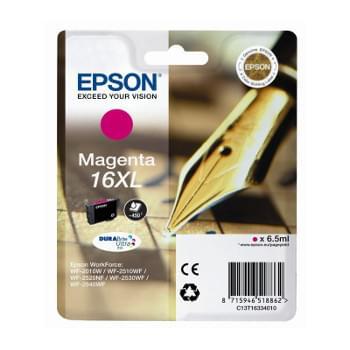 Cartouche d'encre Magenta 16XL - T1633 pour imprimante Jet d'encre Epson - 0