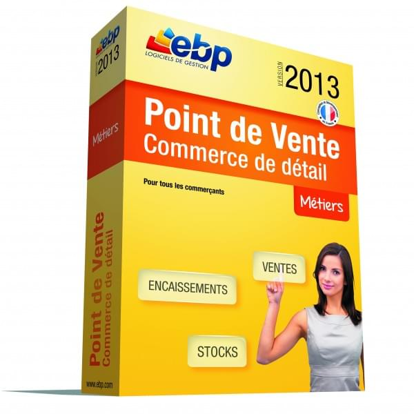EBP Point de Vente Commerce de détail 2013 - Logiciel application - 0