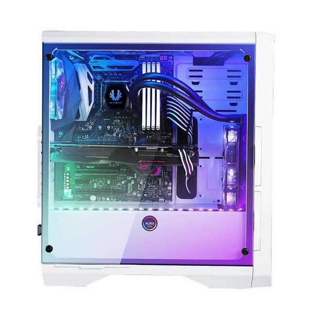 BitFenix GT/sans alim./E-ATX/RGB Blanc - Boîtier PC BitFenix - 4