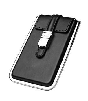 """Icy Box USB2.0 pour DD 2.5"""" SATA (metal/cuir) - Boîtier externe - 0"""