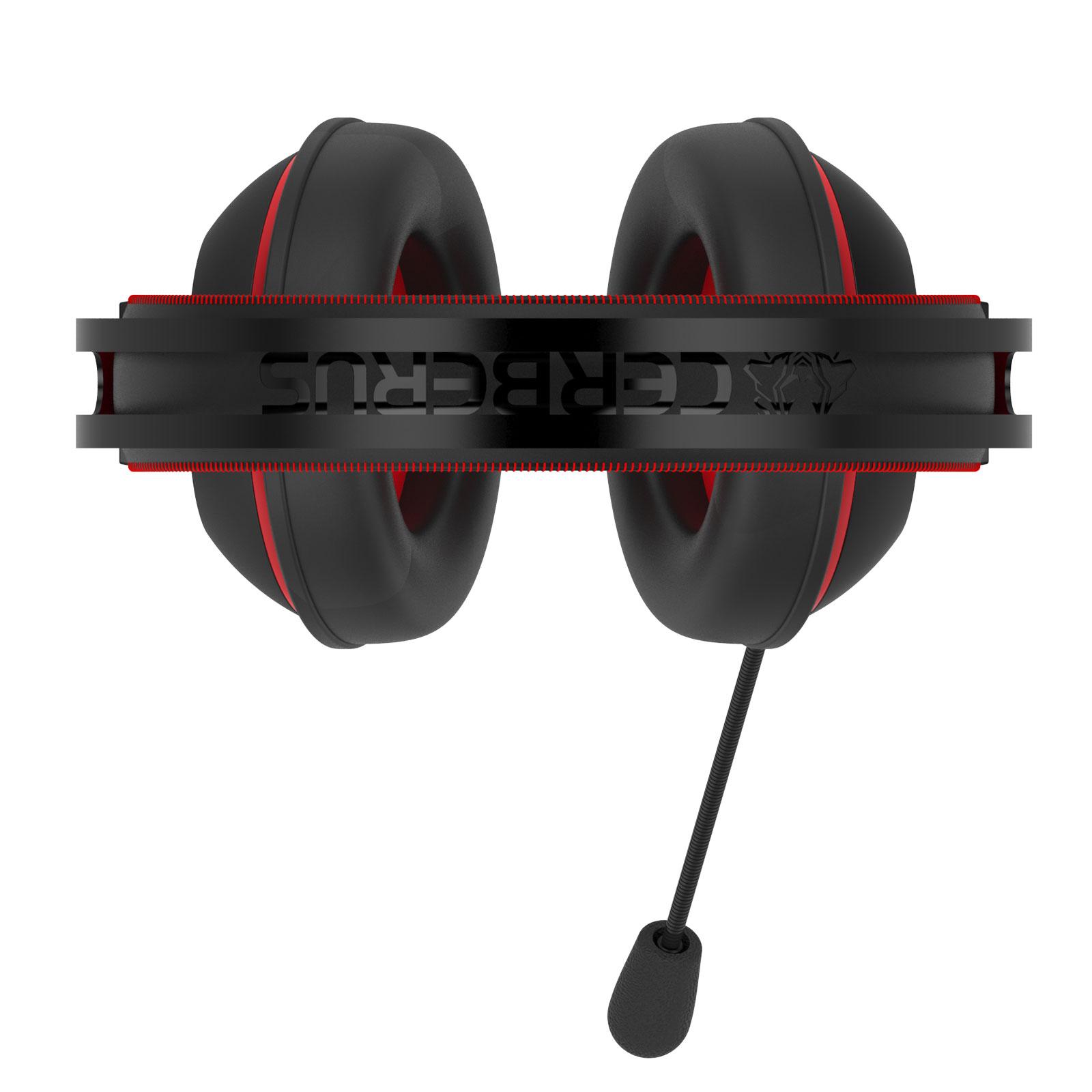 Asus Cerberus V2 Rouge Stereo Noir - Micro-casque - Cybertek.fr - 1