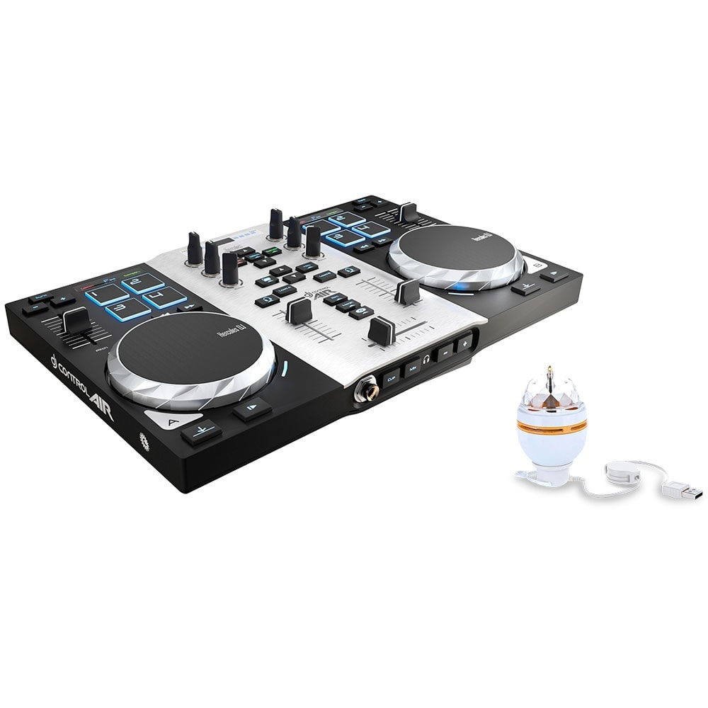 Hercules DJControl Air S Series Party Pack - Table de mixage - 0