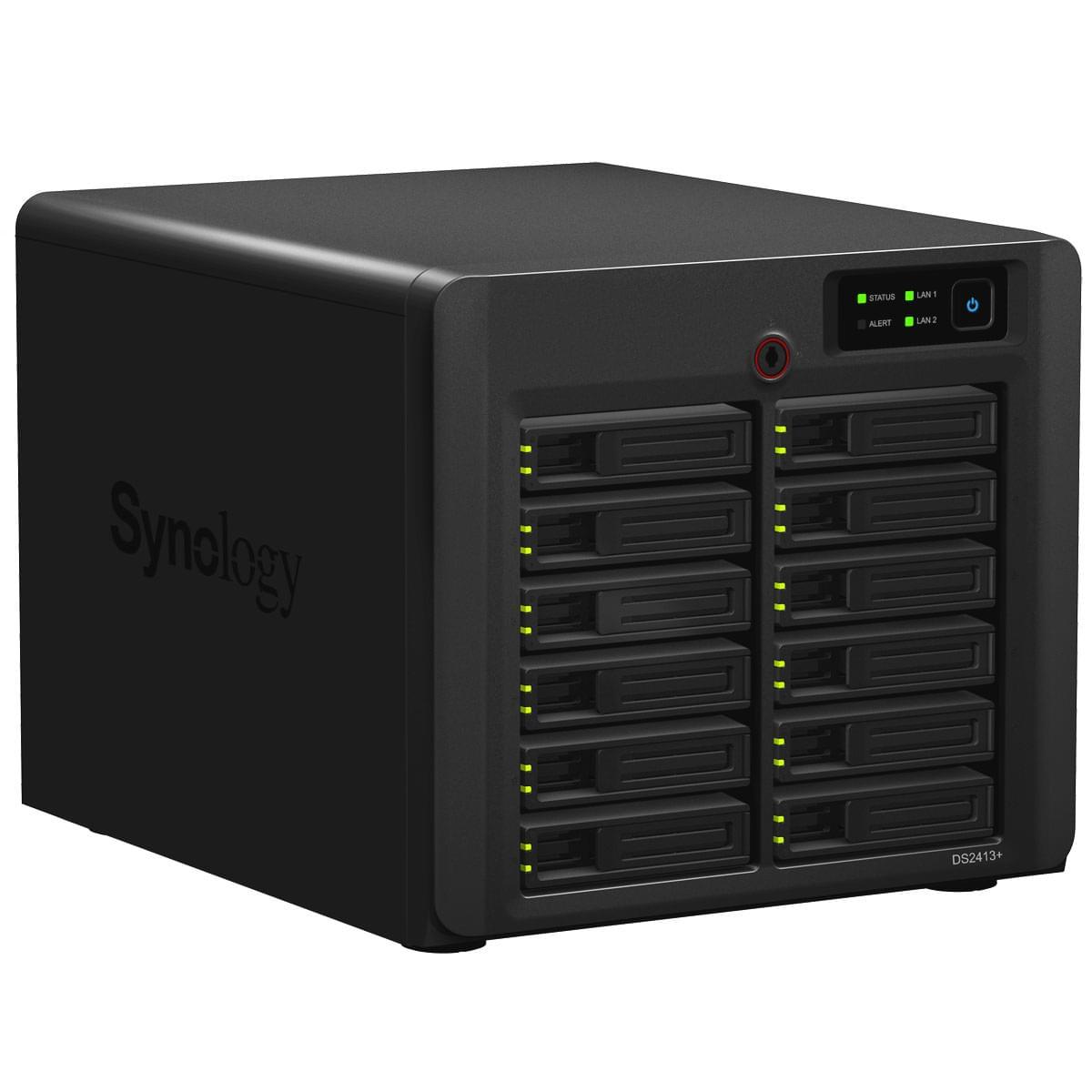 Synology DS2413+ (DS2413+) - Achat / Vente Serveur NAS sur Cybertek.fr - 0