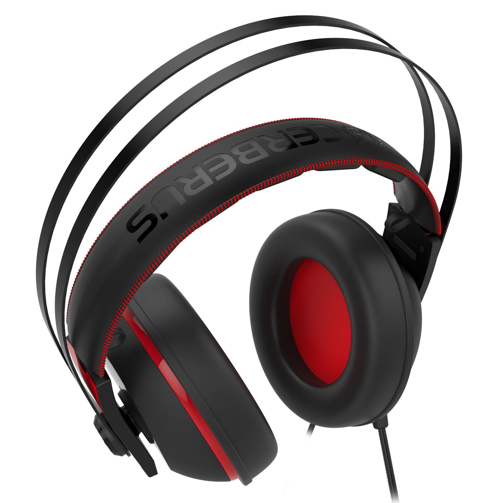 Asus Cerberus V2 Rouge Stereo Noir - Micro-casque - Cybertek.fr - 4