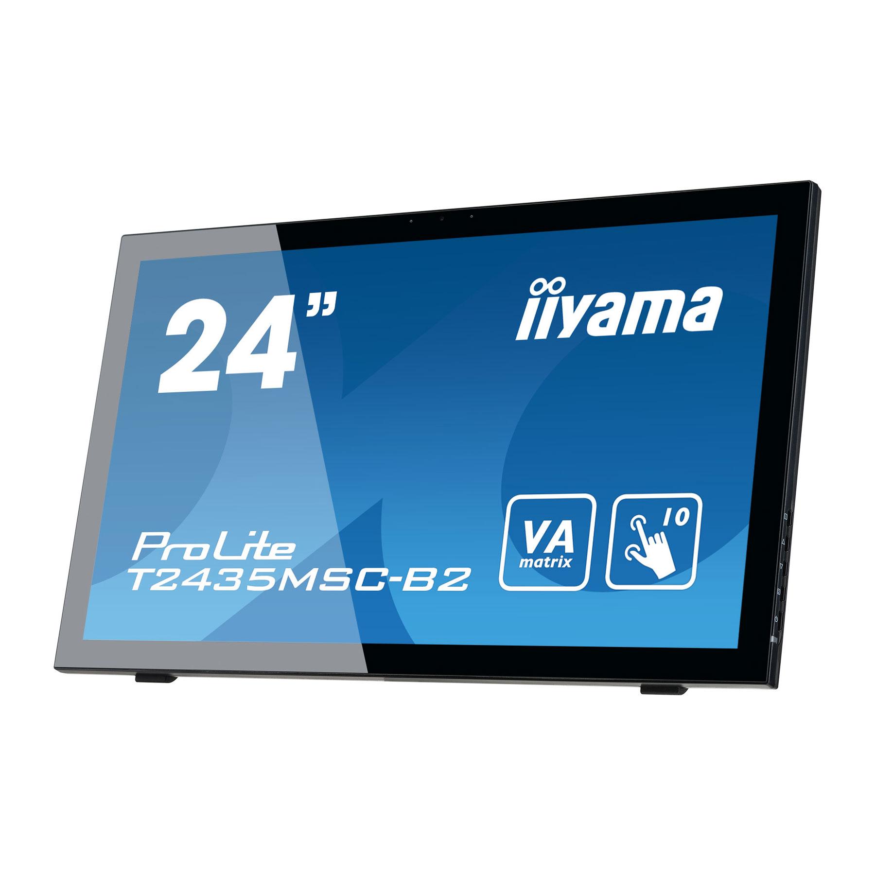"Iiyama 24""  T2435MSC-B2 - Ecran PC Iiyama - Cybertek.fr - 4"