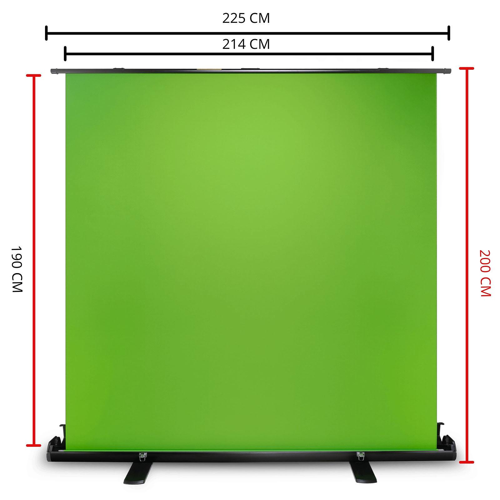 Green Screen XL - Streaming OPLite - Cybertek.fr - 1
