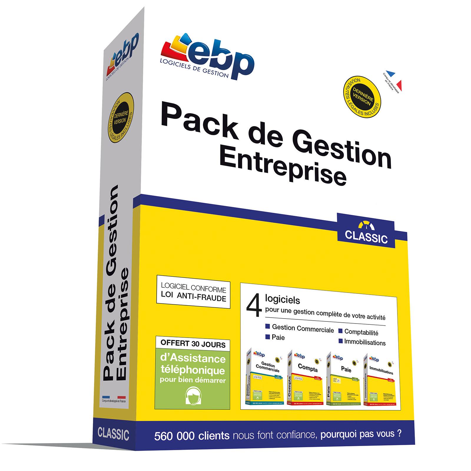 EBP Pack de Gestion Entreprise CLASSIC - Logiciel application - 0