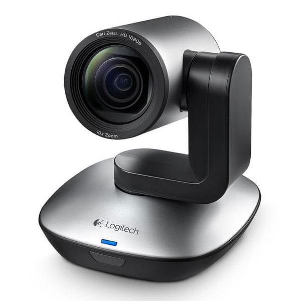 Logitech PTZ PRO (Full HD motorisée) (960-001022) - Achat / Vente Caméra / Webcam sur Cybertek.fr - 0