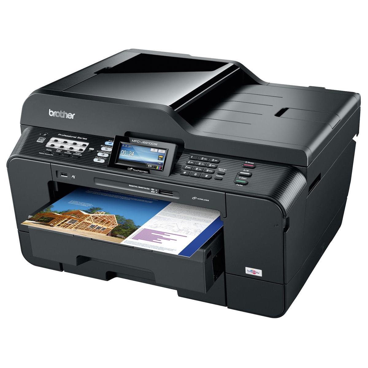 Brother MFC-J6910DW (MFCJ6910DWF1) - Achat / Vente Imprimante Multifonction sur Cybertek.fr - 0