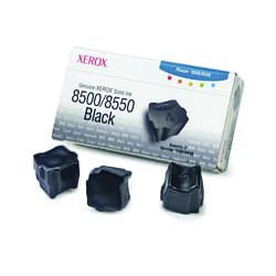 Encres Solides (x3) Noir phaser 8500 - 108R00668 pour imprimante Jet d'encre Xerox - 0
