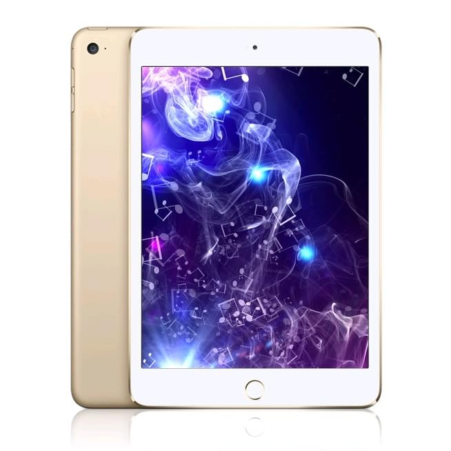Apple iPad Mini 4 64Go WiFi Gold (MK9J2NF/A) - Achat / Vente Tablette Tactile sur Cybertek.fr - 0