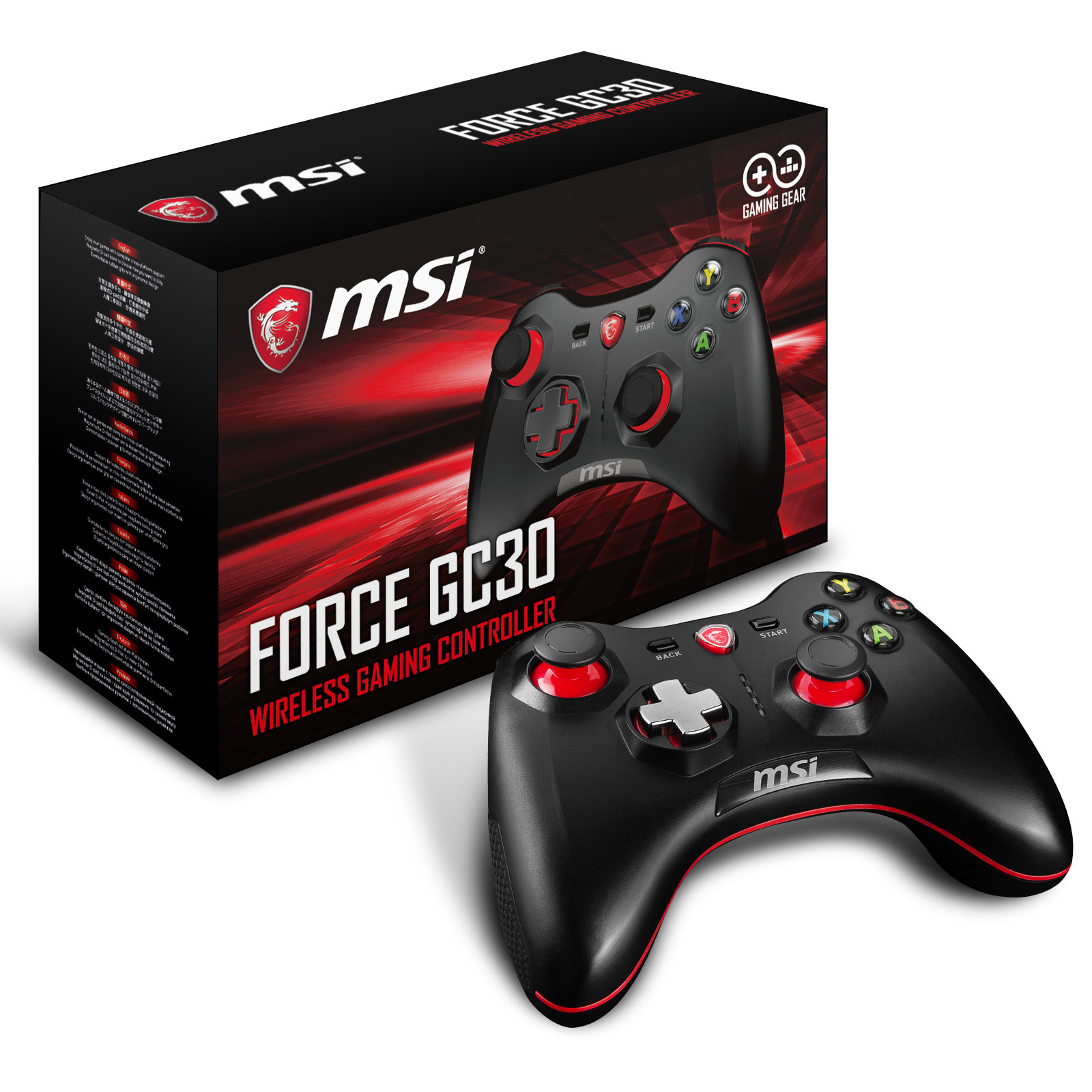 MSI Force GC30 Gaming Controller - Périphérique de jeu - 1