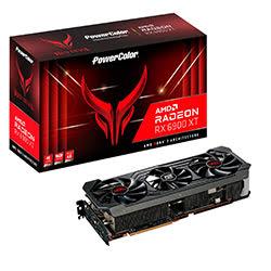 image produit PowerColor RED DEVIL RX 6900XT 16GB  - RX6900XT/16Go/HDMI/DP Cybertek