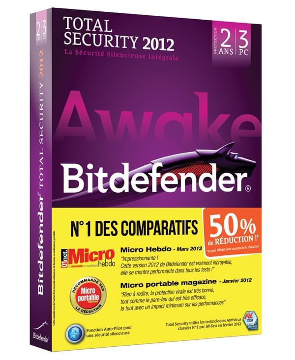 Bitdefender Total Security 2012 OA -50% (A-FBDTS-2W2P003) - Achat / Vente Logiciel sécurité sur Cybertek.fr - 0