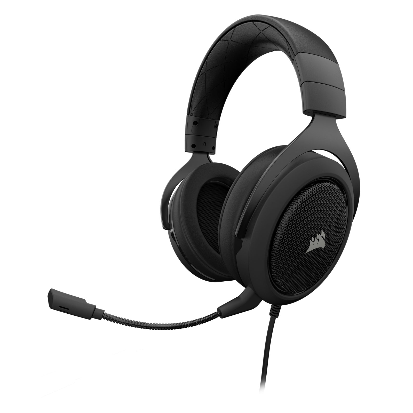 Corsair HS50 Stereo Gaming Headset Carbon Stereo - Micro-casque - 3