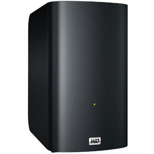 WD My Book Live Duo 4To WDBVHT0040JCH - Disque dur externe WD - 0