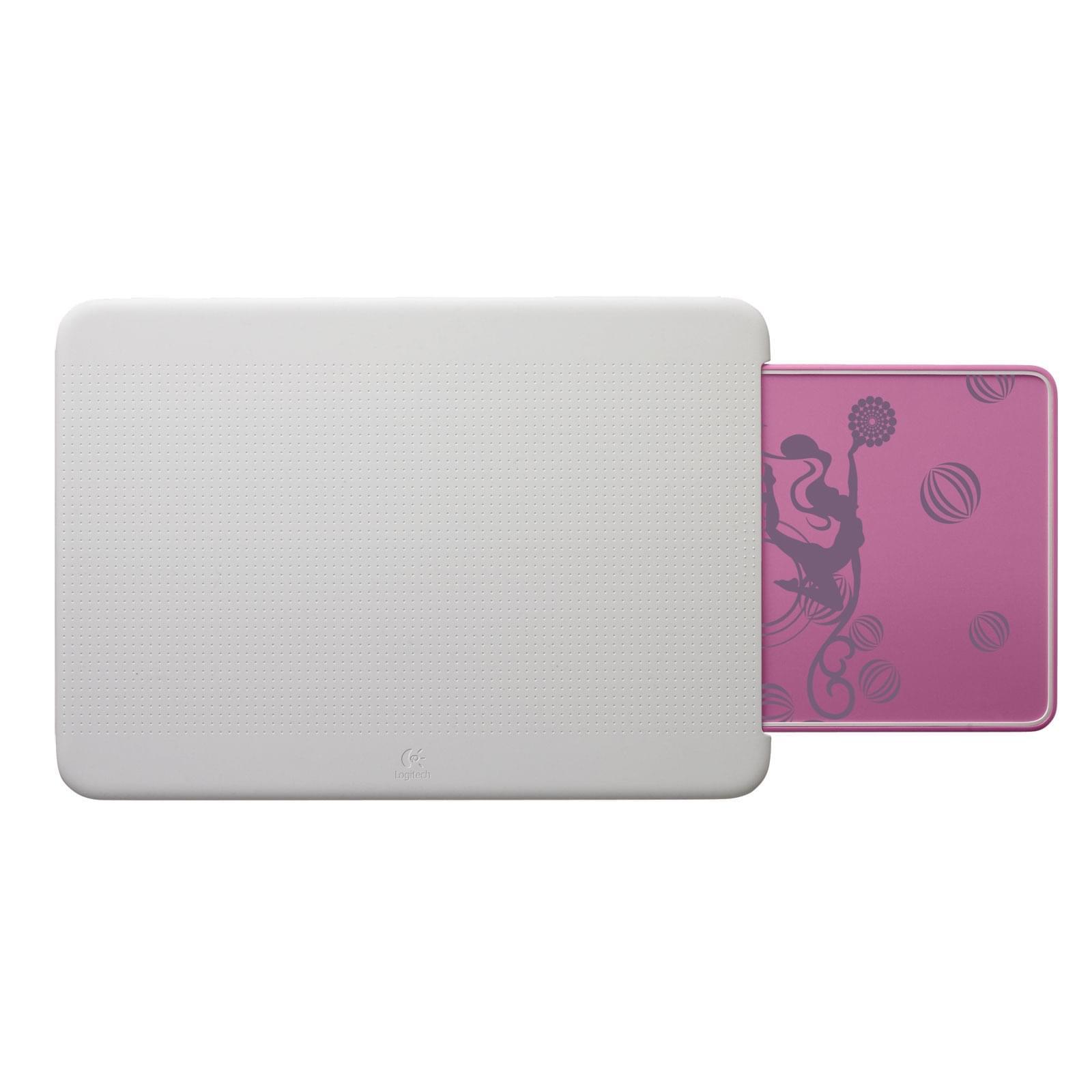 Logitech Comfort Lapdesk N315 Pink Balance (939-000338 soldé) - Achat / Vente Accessoire PC portable sur Cybertek.fr - 0