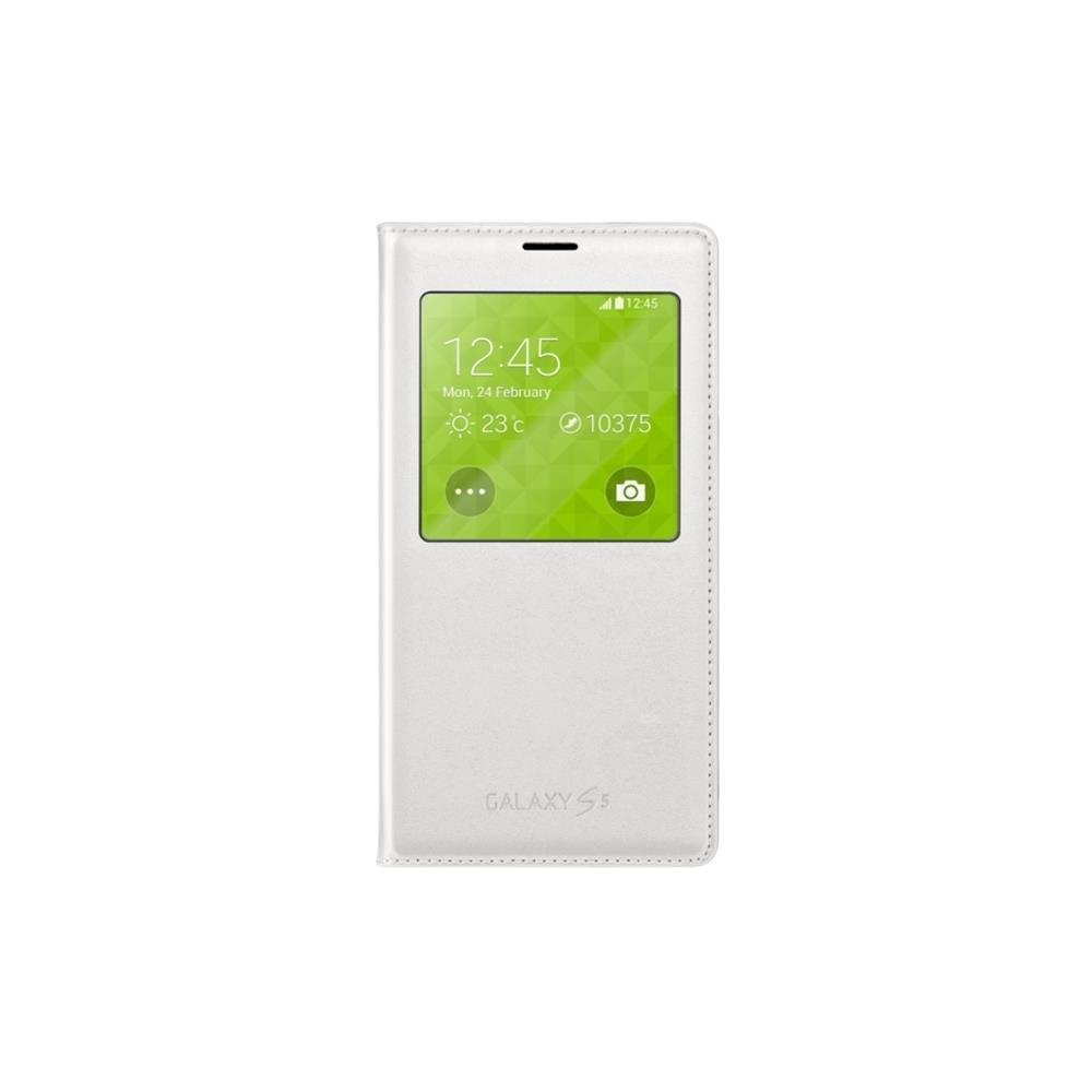 Samsung S View Cover Galaxy S5 Blanc EF-CG900B (EF-CG900BWEGWW) - Achat / Vente Accessoire téléphonie sur Cybertek.fr - 0