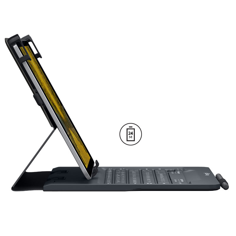 Etui UNIVERSAL FOLIO avec clavier intégré - Accessoire tablette - 2