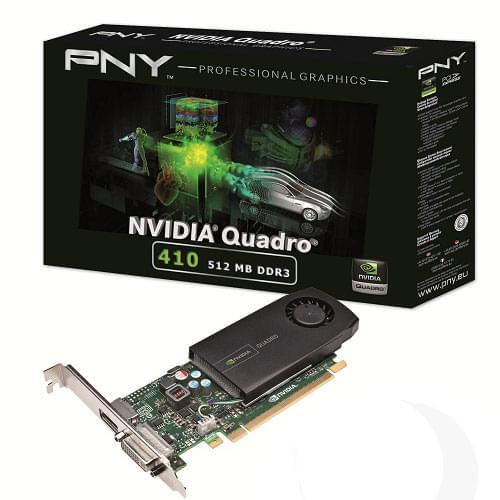 NVidia Quadro 410 512Mo - Carte graphique NVidia - Cybertek.fr - 0