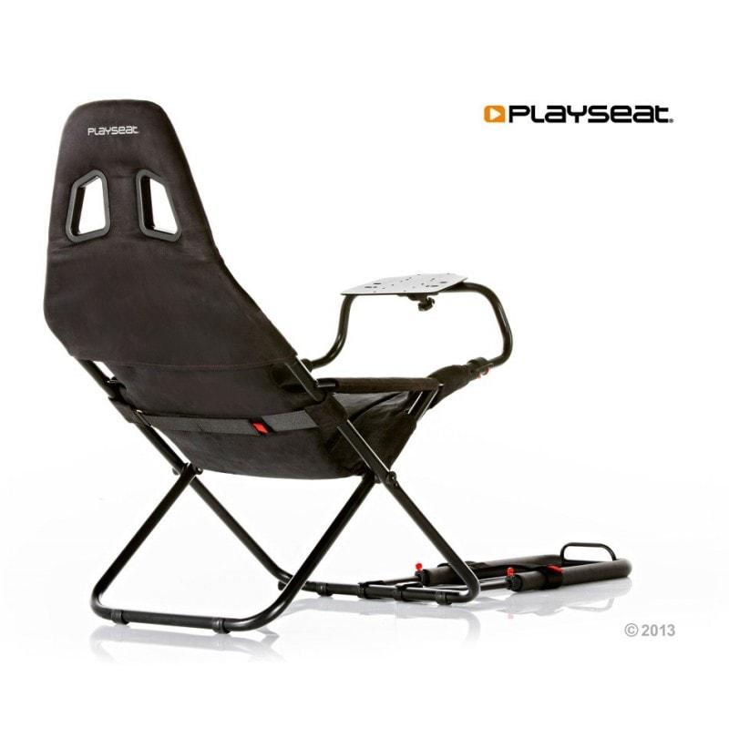 Playseat Challenge Black (siège + support volant) Noir - Siège PC Gamer - 0
